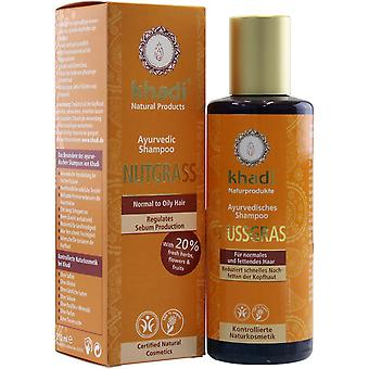 Khadi, Nutgrass Shampoo - Oily Hair 210ml