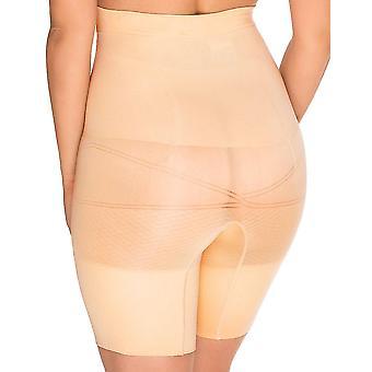 Sans Complexe 699153 Women's Slimmers Skin Firm/Medium Control Slimming Shaping High Waist Long Leg Brief