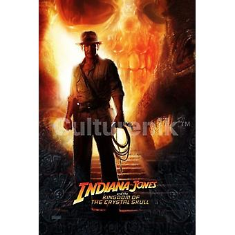 Indiana Jones and the Kingdom of the Crystal Skull Teaser One Sheet Poster Poster Print