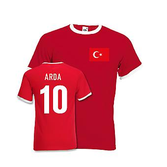 Arda Turan Turkey Ringer Tee (red)