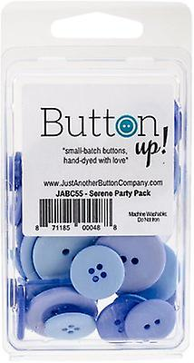 Button Up! Party Pack Buttons-Serene JABC55-13