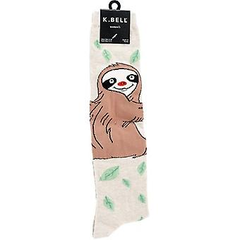 Novelty Knee High Socks-Silly Sloth KNEEHIGH-6N060