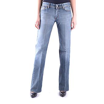 7 for all mankind women's MCBI004016O light blue cotton of jeans