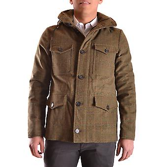 Peuterey men's MCBI235094O green cotton coat