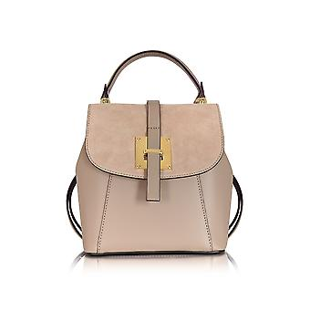Le Parmentier ladies H112NUDE beige leather backpack