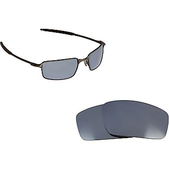 Square Wire (2006) Replacement Lenses Silver by SEEK fits OAKLEY Sunglasses