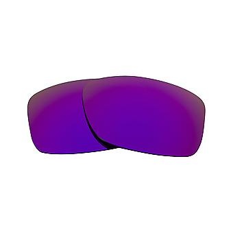 JUPITER SQUARED Replacement Lenses Polarized Blue & Purple by SEEK fits OAKLEY
