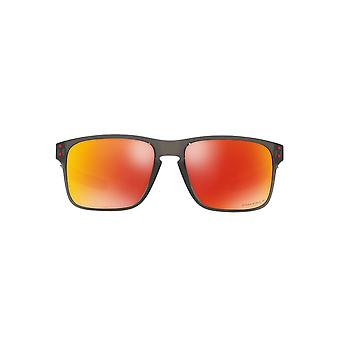 Oakley Holbrook Mix Sunglasses In Grey Smoke Ruby Prizm Polarised
