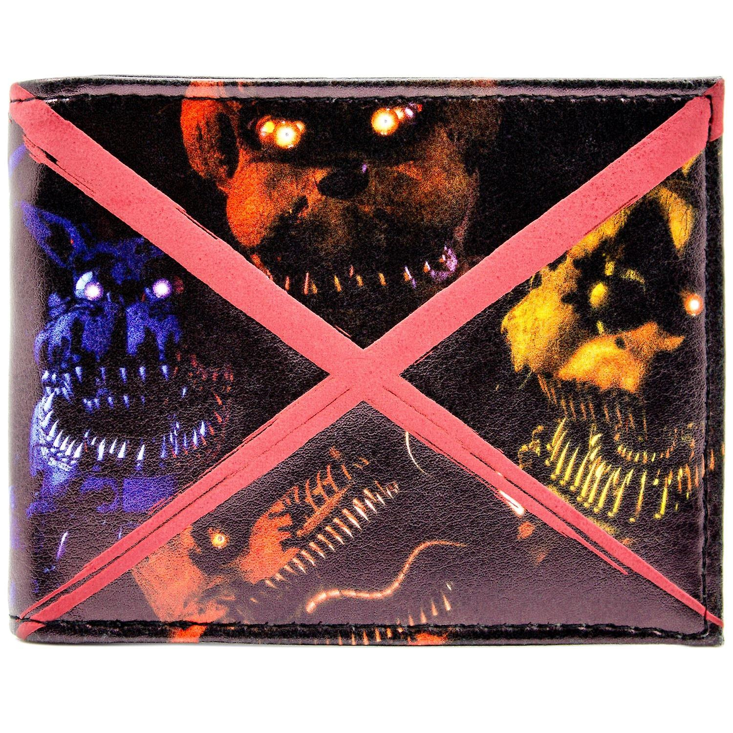 Fazbears Five Nights Scary Freddy ID & Card Bi-Fold Wallet