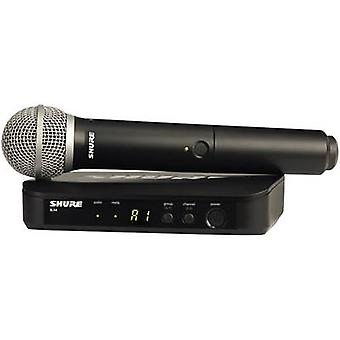 Wireless microphone set Shure BLX24E/PG58-T11 Transfer type:Radio