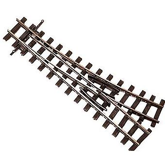 H0e Tillig Narrow Gauge 85638 Points, Left 128 mm