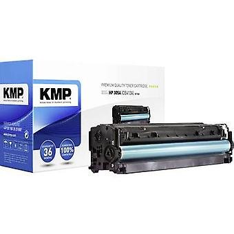 KMP Toner cartridge replaced HP 305A, CE412A Compatible Yellow