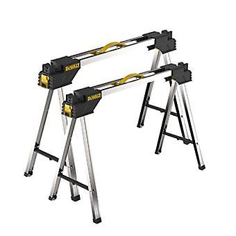 DeWalt DWST1-75676 Metal Portable Saw Horse Work Support Stands