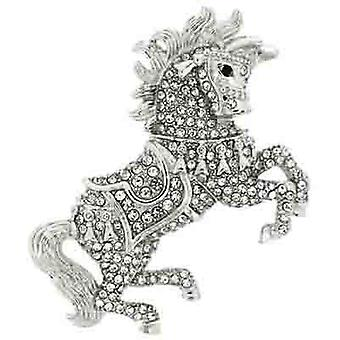 Brooches Store Large Swarovski Crystal Horse with Saddle Brooch Pendant