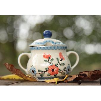 Sugar Bowl, 200 ml, 53, traditional polish pottery - BSN 22142