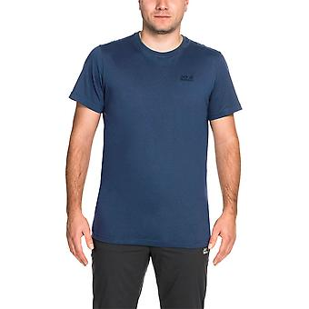 Jack Wolfskin Mens Essential Polycotton Soft Touch Casual T Shirt
