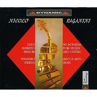 N. Paganini - Paganini: 30 Sonatas for Violin and Guitar [CD] USA import