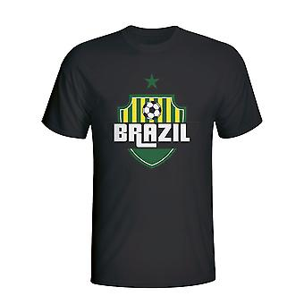 Brazil Country Logo T-shirt (black)