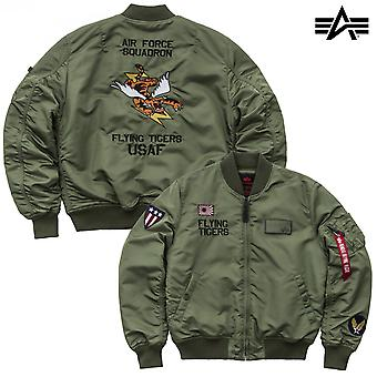 Alpha industries MA-1 giacca VF Flying Tigers