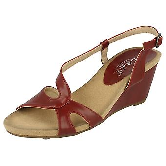 Ladies Eaze High Wedge Sandal