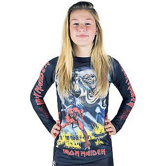 Tatami Fightwear x Iron Maiden Ladies Number of the Beast Long Sleeve Rashguard