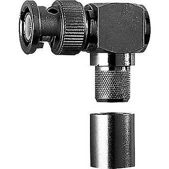 BNC-kontakt Plug, rett vinkel 50 Ω Telegärtner J01000A0066 1 eller flere PCer