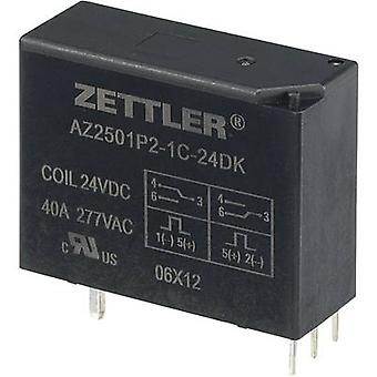 Zettler Electronics AZ2501P2-1C-24DK PCB relays 24 Vdc 50 A 1 change-over 1 pc(s)