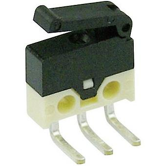 Cherry Switches Microswitch DH2C-C5PA 30 Vdc 0.5 A 1 x On/(On) momentary 1 pc(s)