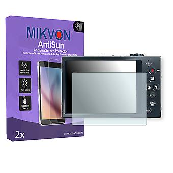 Canon PowerShot ELPH 520 HS Screen Protector - Mikvon AntiSun (Retail Package with accessories)