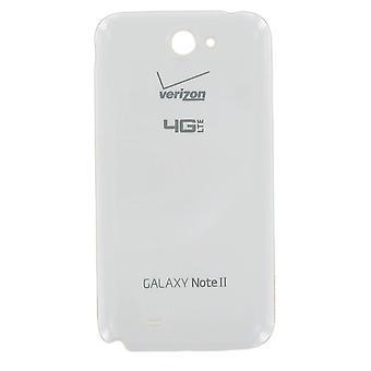 ベライゾン - マーブル ホワイトの OEM 三星銀河注 2 i605 電池のドア
