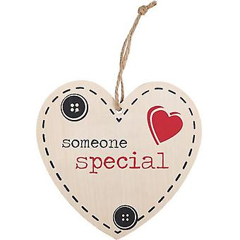 Something Different Someone Special Hanging Heart Sign