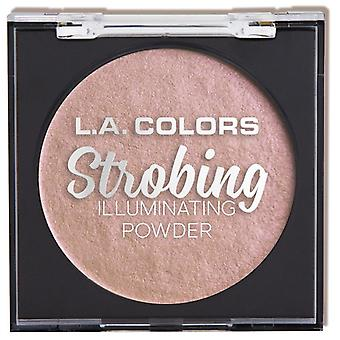 L.A. Colors Strobing Illuminating Powder Pink Flashing (Makeup , Face , Highlighter)