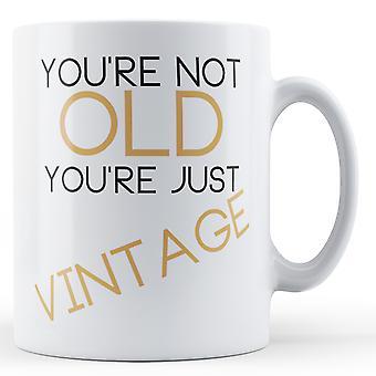 Nie stary tylko Vintage - kubek z nadrukiem