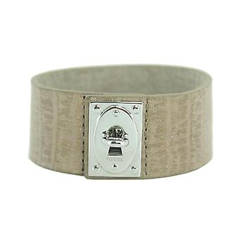 Fossil ladies leather strap JF00238040 leather brown gold