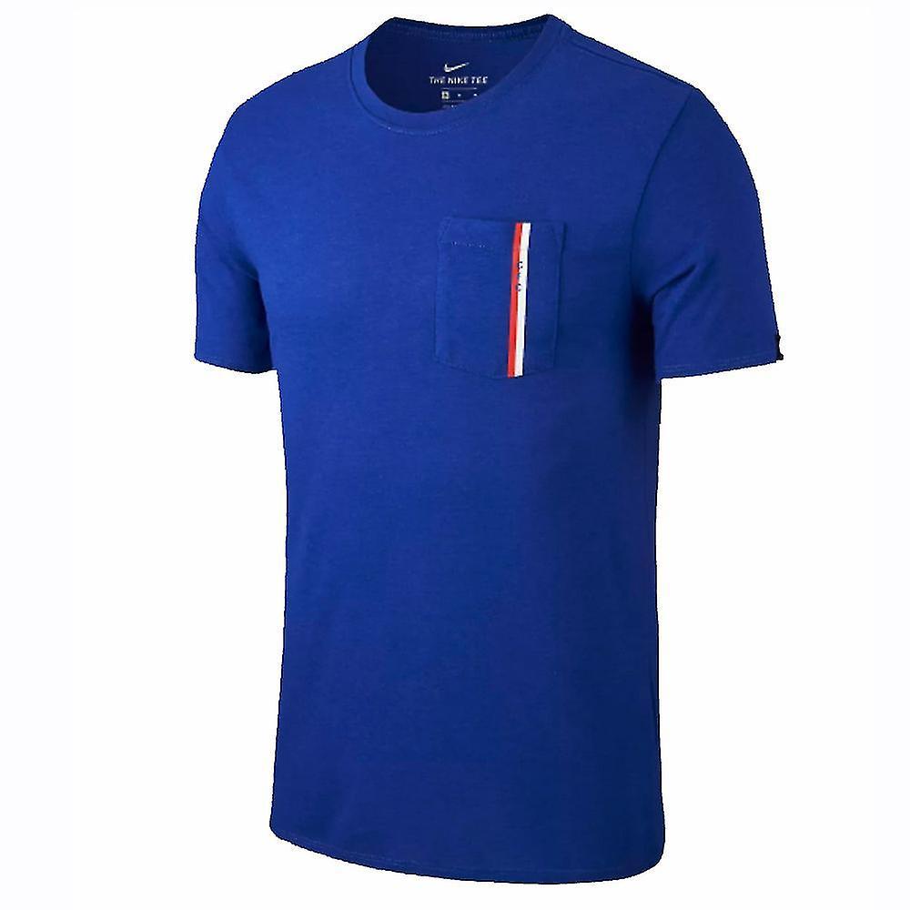 2018-2019 Chelsea Nike Travel Tee (Blue)