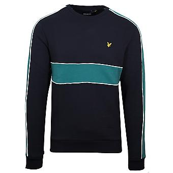 Lyle & Scott Lyle & Scott Black Cut & Sew Sweatshirt