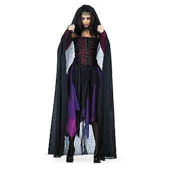 Cape cloak Lady costume Lady Cape woman Cape costume ladies black