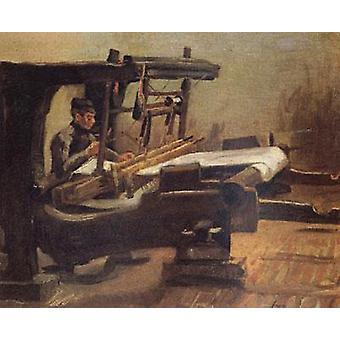 Уивер, вправо, Винсент Ван Гог, 37x45cm