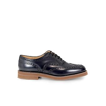 CHURCH'S DOWNTON LACE UP POLISHBINDER NAVY