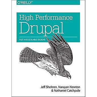 Hoge prestaties Drupal - snelle en schaalbare ontwerpen door Jeff Sheltren-