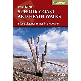 Côte du Suffolk et Heath promenades - 3 lignes à longue distance dans l'Aonb par