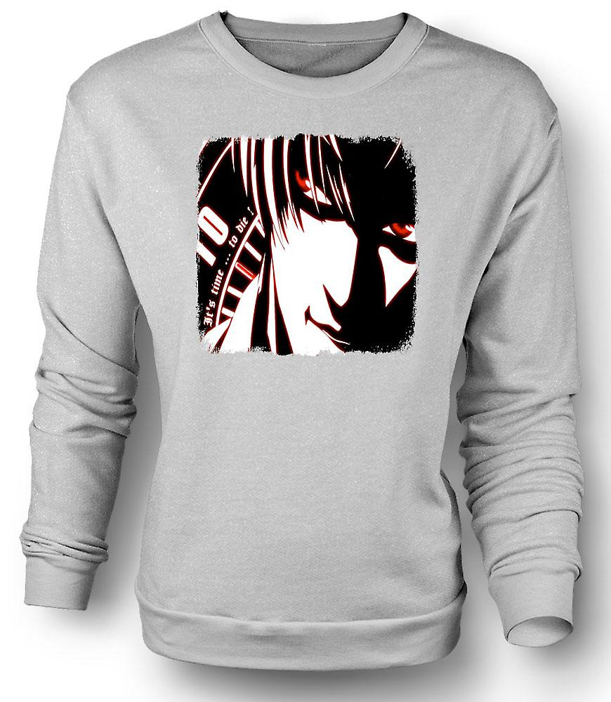 Mens Sweatshirt  Manga - Japanese Cool