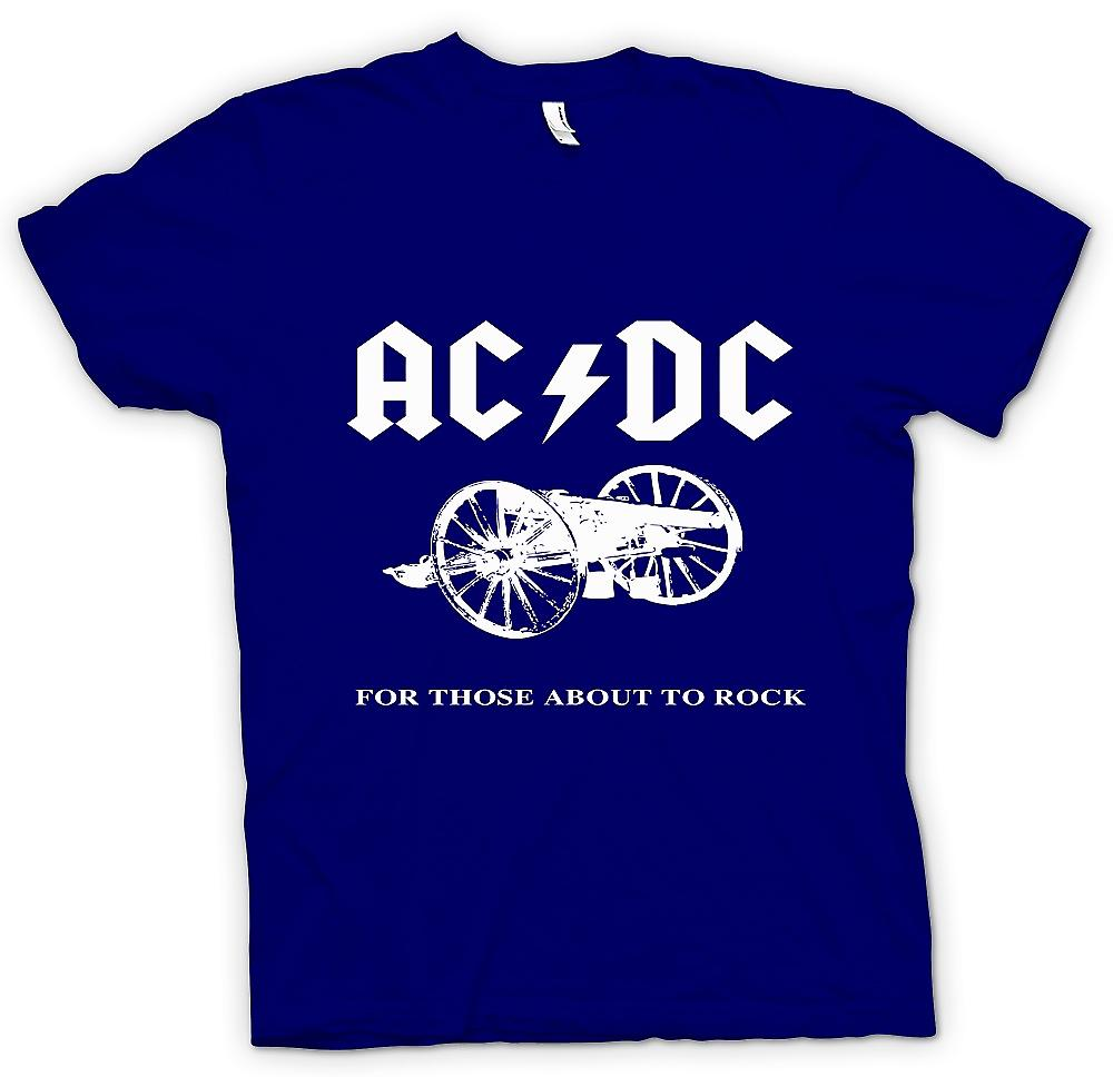 Mens T-shirt - AC/DC For Those About To Rock