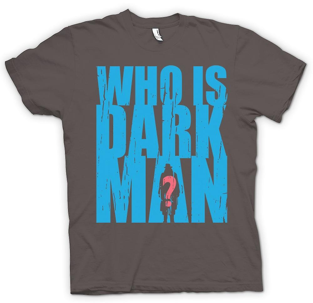 Mens t-shirt-whos Darkman - supereroe ispirato