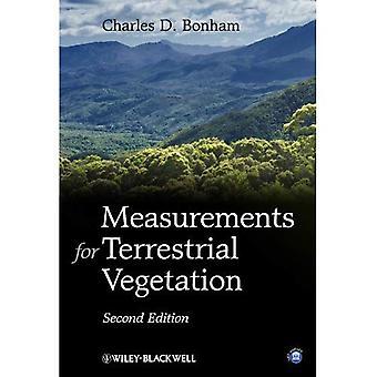 Medições para a vegetação terrestre