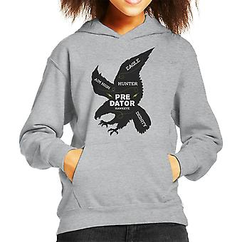 Golden Eagle Description Kid's Hooded Sweatshirt