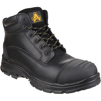 Amblers Mens AS201 Quantok S3 PU/Rubber Lace Up Safety Boots