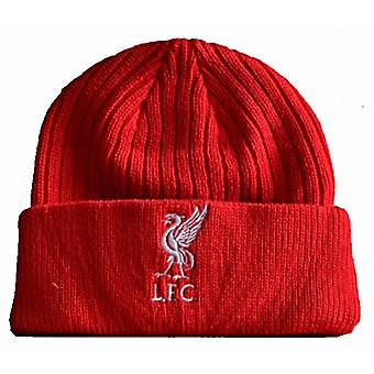 Liverpool FC Woven turned up Beanie Hat  - official product    (bb)