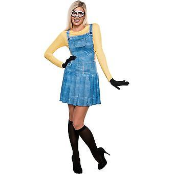 Minion vrouwelijke kostuum voor volwassenen - 20955