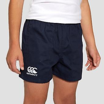 Canterbury profesjonell bomull JUNIOR RUGBY SHORTS
